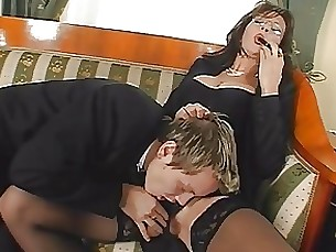 teacher schoolgirl milf mature lingerie juicy hairy boss ass