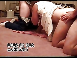 threesome milf homemade amateur