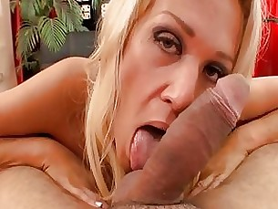 milf mouthful nasty pov blonde blowjob big-cock couple shaved
