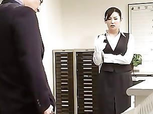 secretary japanese hidden-cam babe