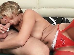 mature mammy lingerie hardcore granny fingering blowjob