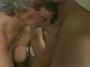 mature granny friends couple