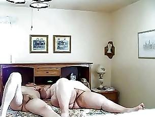 mature granny bbw double-penetration amateur