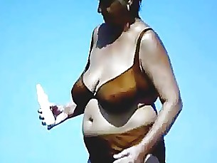 mature beach granny busty bus amateur