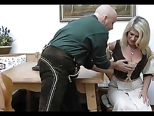 mature granny bbw boobs blonde anal