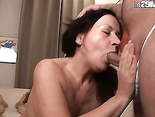 amateur blowjob granny hardcore mature pornstar threesome