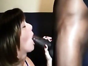 hardcore big-cock brunette blowjob black amateur wife milf huge-cock