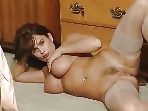 brunette mature masturbation