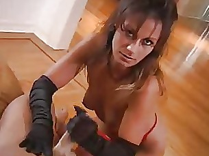 handjob hot milf