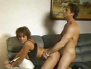 brunette cumshot milf pornstar vintage