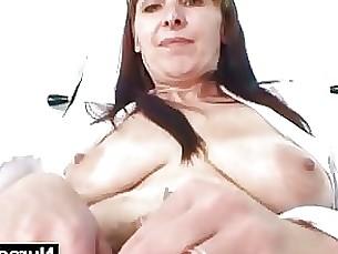 crazy dildo hairy mammy masturbation mature pussy