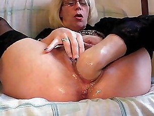 solo pussy milf mature masturbation hairy granny fisting blonde