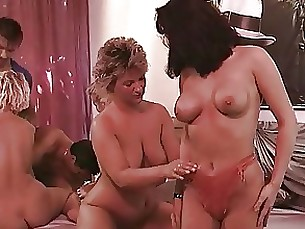 threesome orgy mature