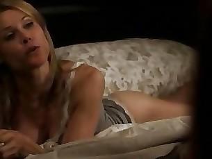 milf blonde lingerie funny