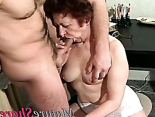 amateur really mature hardcore granny first-time