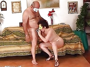 blowjob brunette fuck couple mature