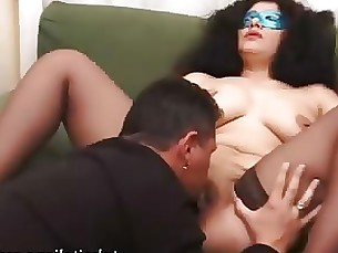 amateur blowjob brunette mature milf nylon wife