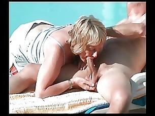 sucking public nude mature granny big-cock amateur