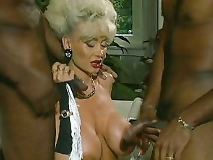 bus dolly fuck black interracial milf pornstar threesome vintage