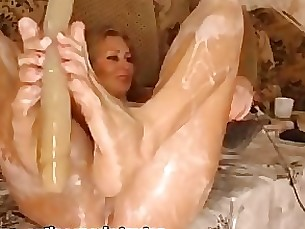 crazy mature squirting blonde beauty solo