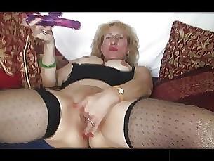 black blonde masturbation mature stocking toys