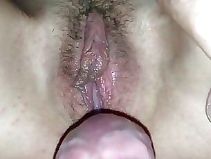pussy mature hairy fuck creampie amateur