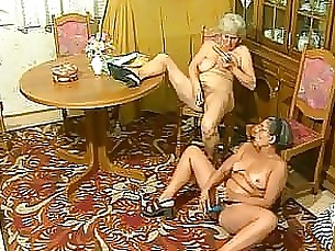 fuck granny hardcore horny mature threesome