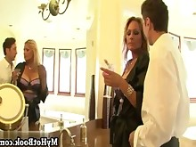 anal big-tits blonde boobs cumshot double-penetration facials gang-bang hot