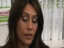 pussy secretary blowjob brunette bus busty fuck hardcore hidden-cam