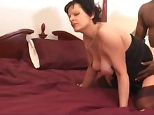 mammy pregnant threesome wife big-cock interracial