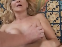 mammy mature milf slender wife blonde cougar cumshot facials