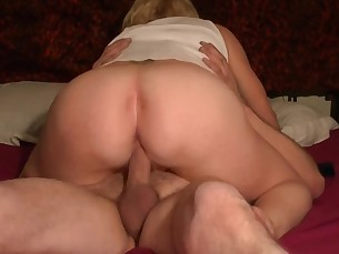 amateur ass blonde big-cock cougar creampie fuck hardcore homemade