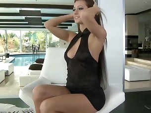 ass big-tits boobs brunette dancing dress high-heels hot juicy
