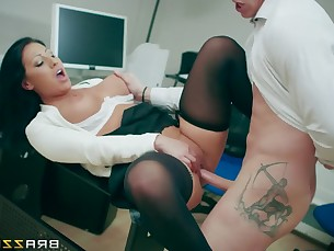 ass big-tits boobs brunette classroom fuck hardcore mammy milf