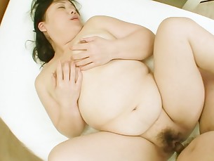 ass bathroom big-cock creampie cumshot doggy-style bbw fatty fuck