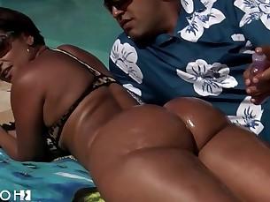 anal ass bikini cumshot fuck hot juicy mammy natural