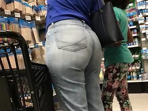 ass bbw fatty flexible hidden-cam jeans mature voyer wife