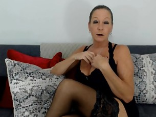 big-tits boobs domination fetish high-heels mammy milf natural pov