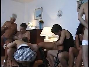 babe blonde blowjob cumshot group-sex little mature milf orgy