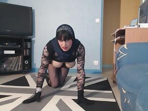 ass big-tits boobs cougar mammy milf nylon oil panties