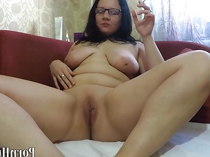 amateur big-tits brunette fetish mammy mature milf smoking squirting