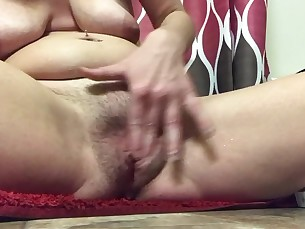 babe brunette massage masturbation milf playing pussy squirting tease