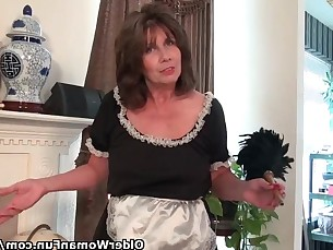 granny mammy masturbation mature milf nylon panties