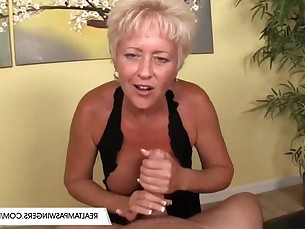 big-tits blonde boobs big-cock handjob huge-cock lactation ladyboy mammy