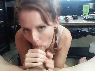 amateur babe beauty blowjob brunette big-cock crazy cumshot huge-cock