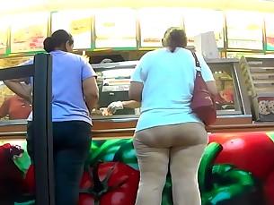 ass bbw fatty flexible latex mammy mature milf panties
