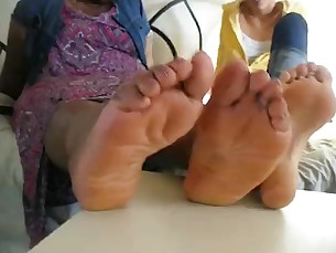 amateur black ebony bbw fatty feet fetish foot-fetish mature
