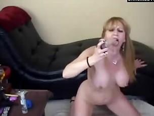 big-tits blonde boobs bus busty deepthroat dildo homemade mature