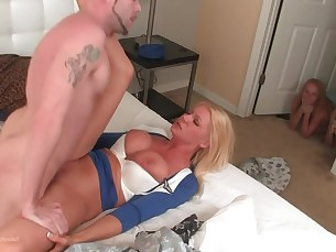 blonde bus busty big-cock cumshot daddy doggy-style fetish fuck