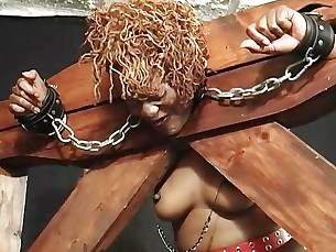 bdsm big-tits black casting ebony fetish mature natural nipples
